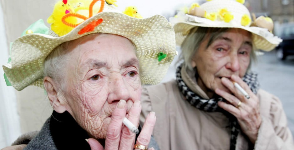 Barnoldswick Easter bonnet competition