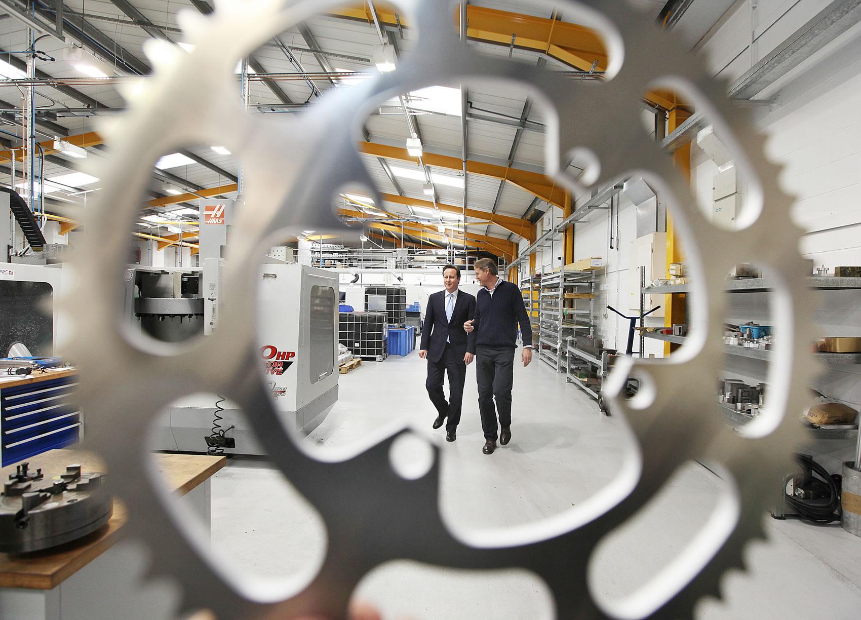 Prime Minster visits Hope Technology