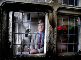 National icon playwright Alan Bennett