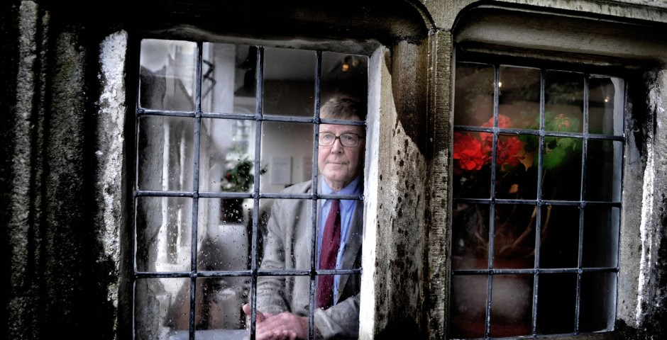National icon playwright Alan Bennett