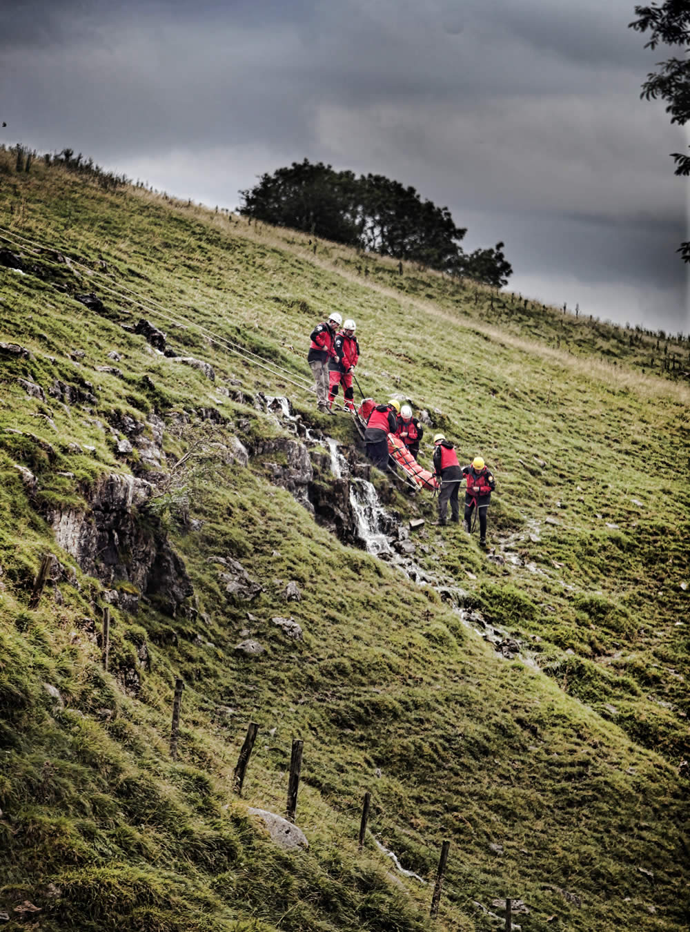 Fell rescue in Yorkshire