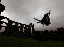 Halloween fun at Bolton Abbey