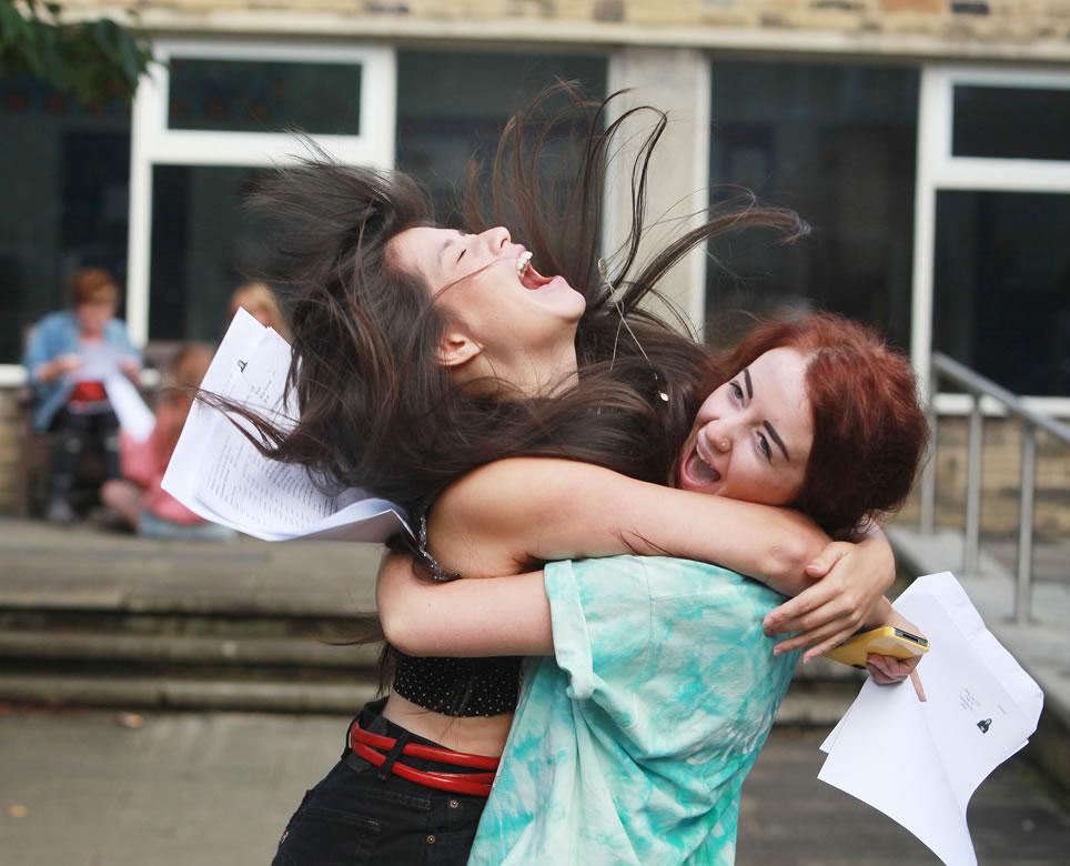 Skipton Girls High School A Level joy