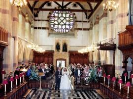 Wedding at Giggleswick Chapel