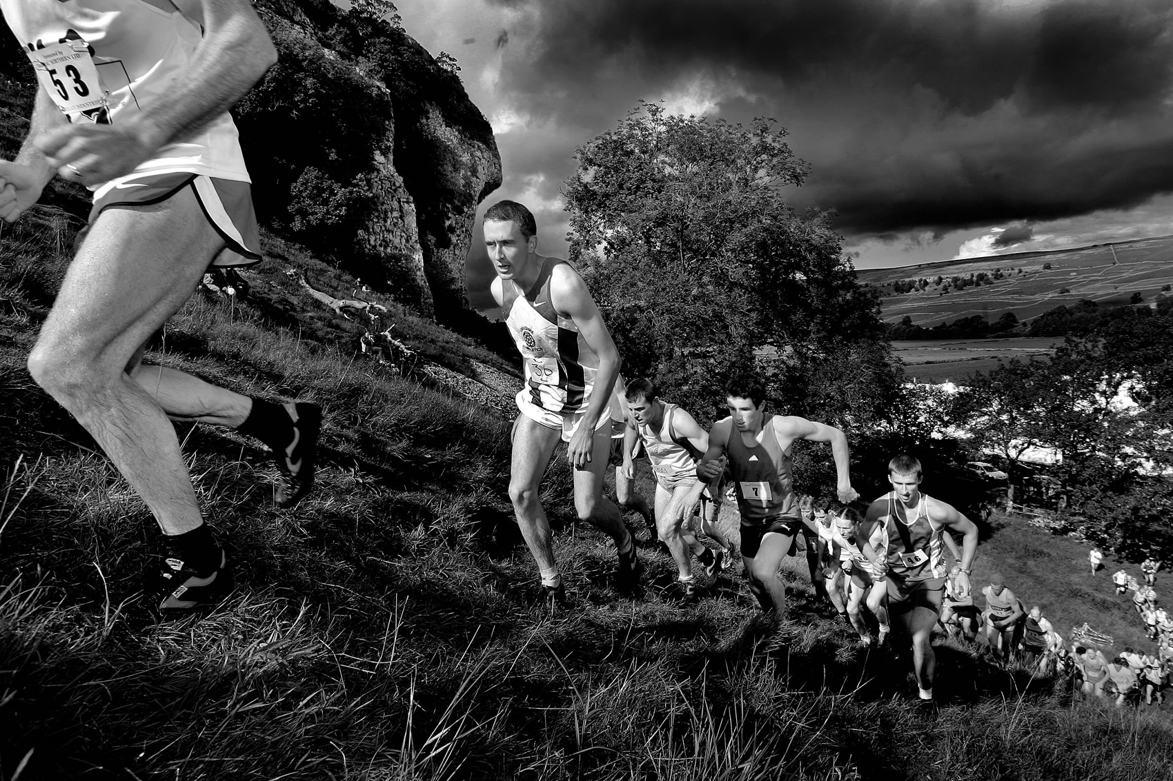 Fell racing at Kilnsey